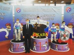 Открытый турнир по каратэ «Первые шаги»